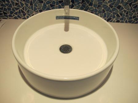 Guest bath sink